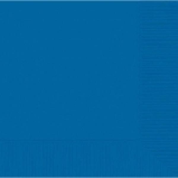 Marine Blue Beverage Napkin - 50 pkg