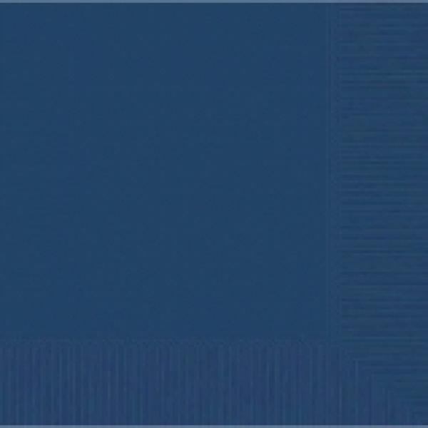 Navy Flag Blue Beverage Napkin - 50 Pkg