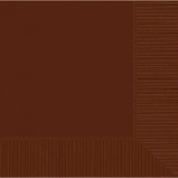 Chocolate Luncheon Napkins - 50 pkg