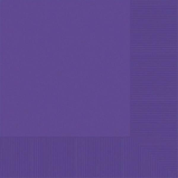 Purple Luncheon Napkin