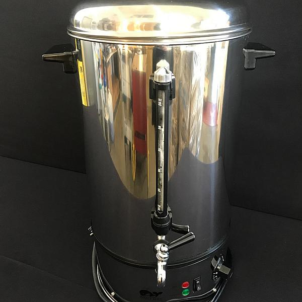 Hot Water Boiler - Stainless Steel - 65 Cup