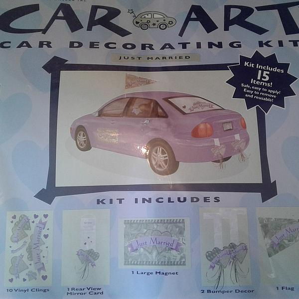 Car Art - Decorating Kit