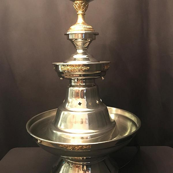 Silver Beverage Fountain - Large
