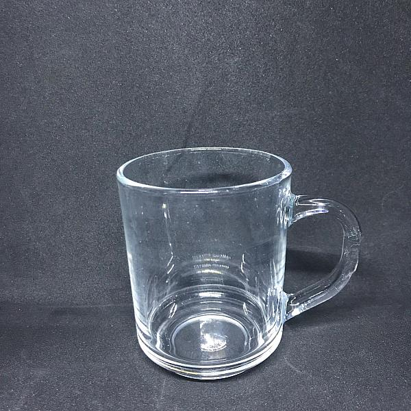 Clear Glass 7 oz Coffee Mug
