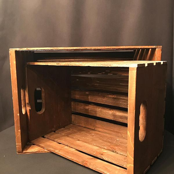 """Wooden Crate - Small - 12"""" x 17"""""""