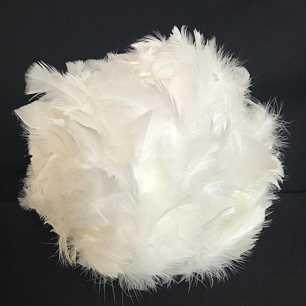 """White Feather Ball - 15"""""""