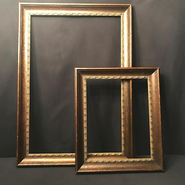 "Vintage Frame - Open back - 16"" x 20"" * now painted white"