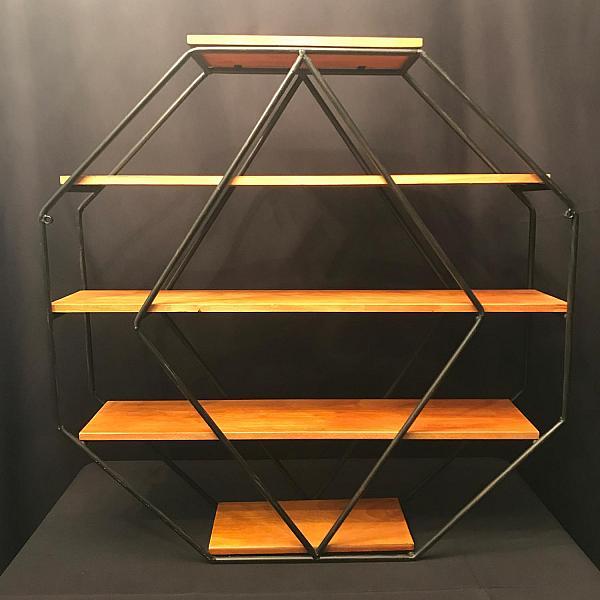 Geometric Shelving Stand