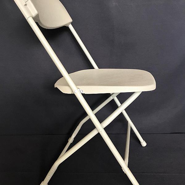 Folding Chair - Light Grey