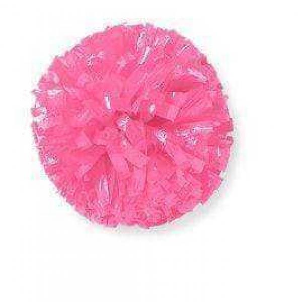 Plastic Pom Poms - Bright Pink