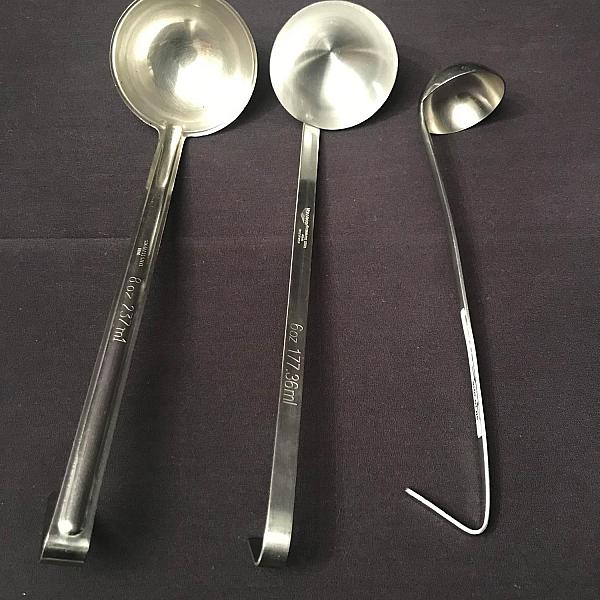 Stainless Ladle - 2 oz