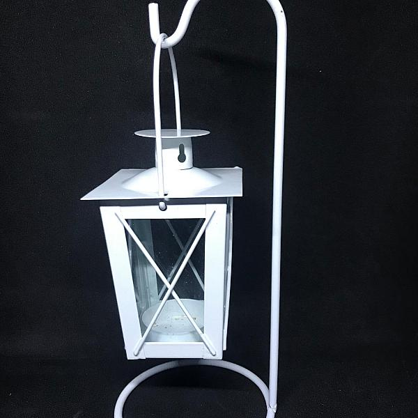 Lantern - White - Votive Holder