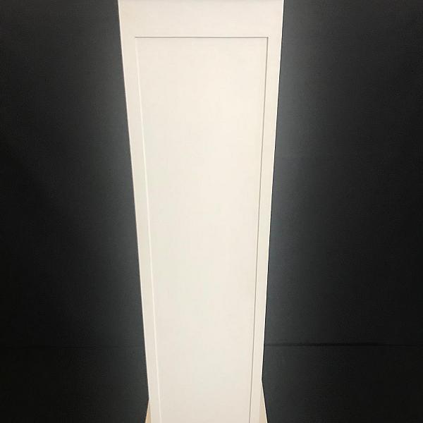 """Pillar - Wood - White - 49"""" Height"""