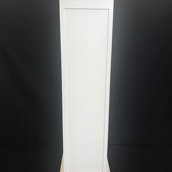 "Pillar - Wood - White - 61"" Height"