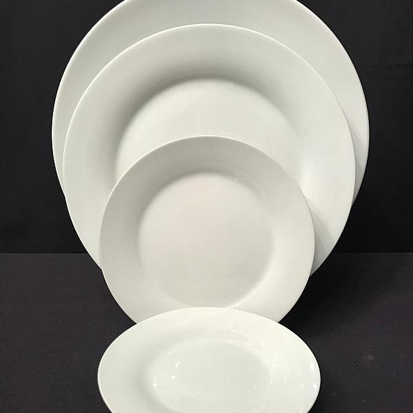"Pearl White 7.5"" Side/Dessert Plate"