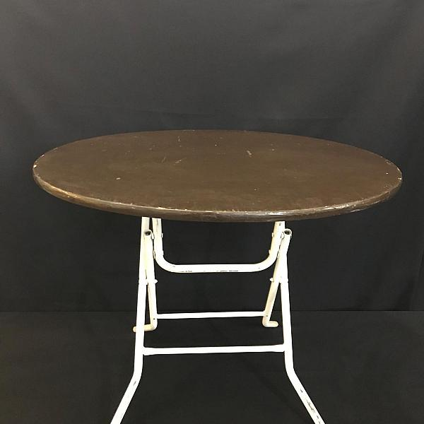 "Round Table, 36"" - Wood - 30"" Height"