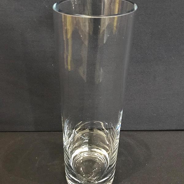 """Round Cylinder Vase - 3.5"""" x 14"""""""