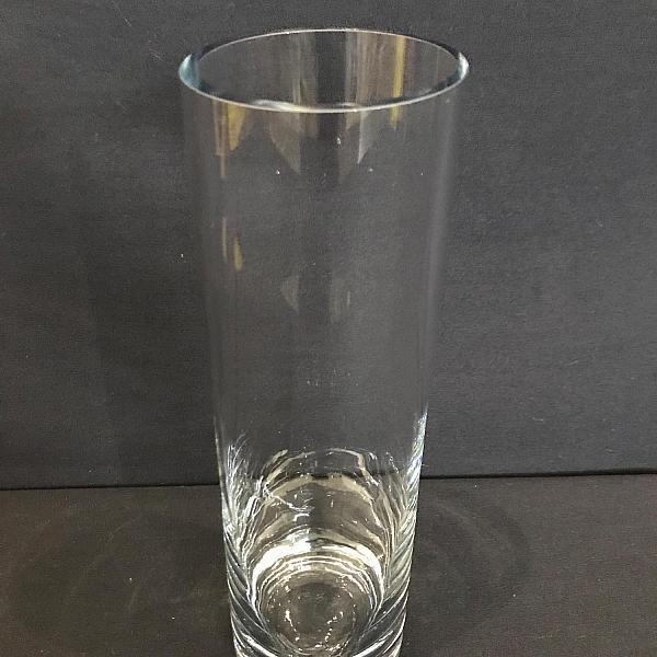 """Round Cylinder Vase - 3.5"""" x 12"""""""