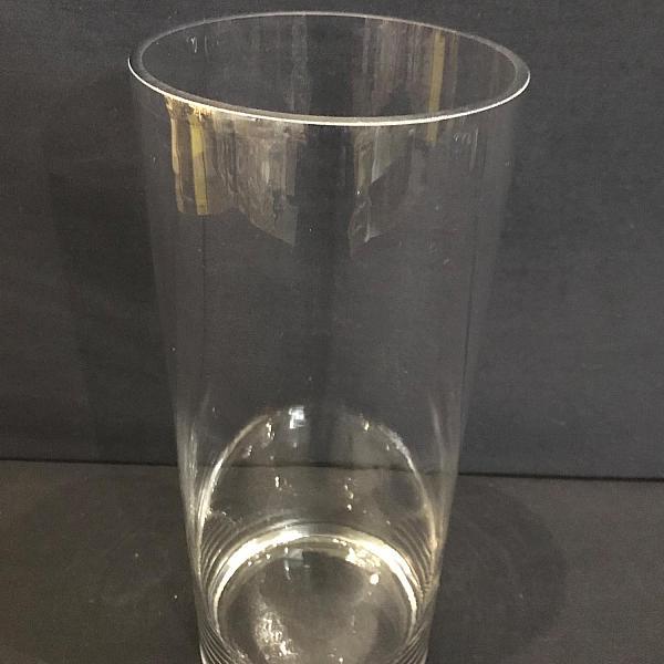 """Round Cylinder Vase - 4.75"""" x 12"""""""