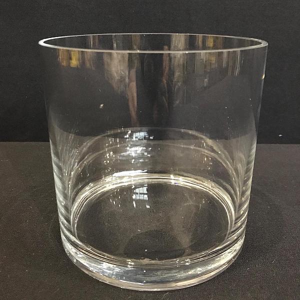 """Round Cylinder Vase - 5"""" x 5"""""""