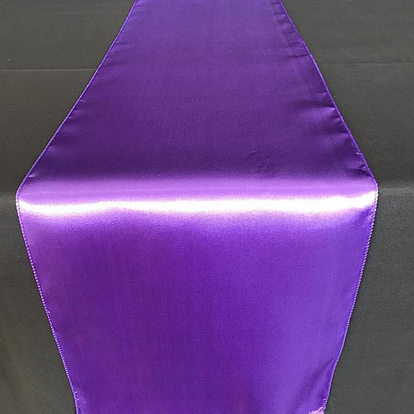 Table Runner - Satin - Purple