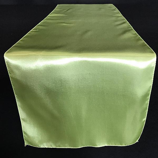 Table Runner - Satin - Tea Green