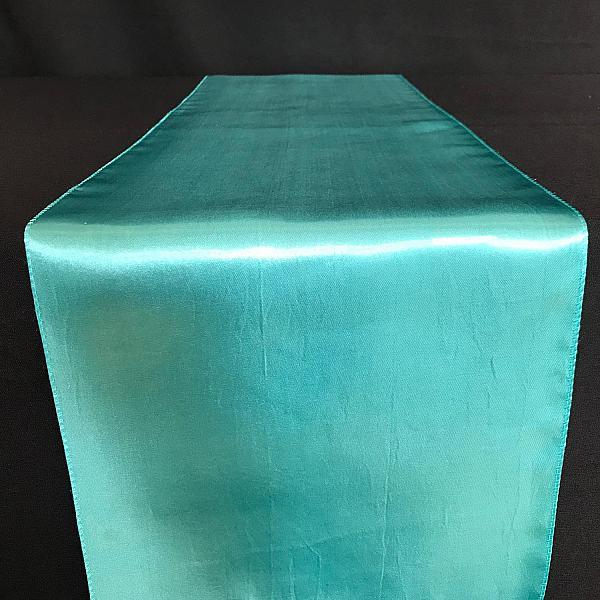 Table Runner - Satin - Turquoise