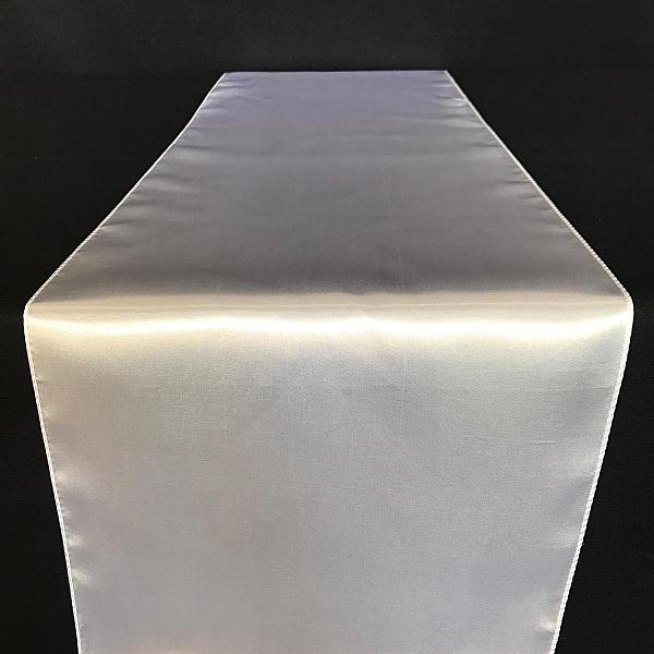 Table Runner - Satin - White