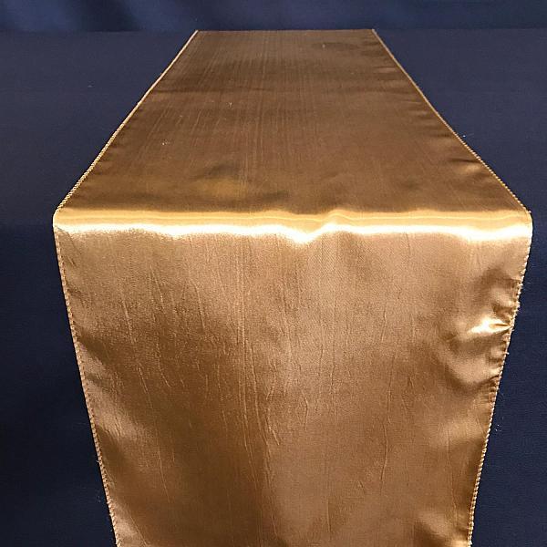 Table Runner - Satin - Gold