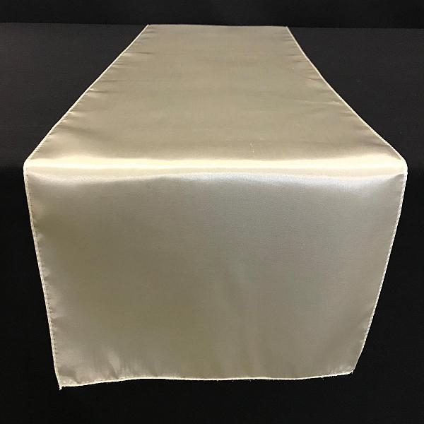 Table Runner - Satin - Ivory