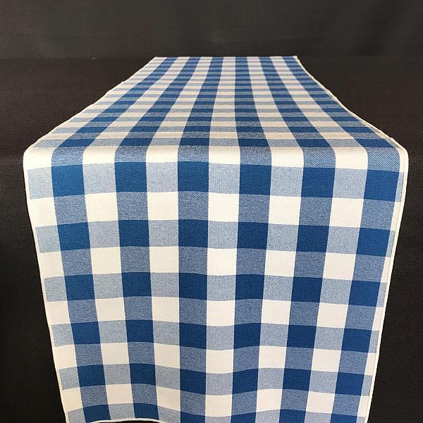 Table Runner - Gingham - Blue