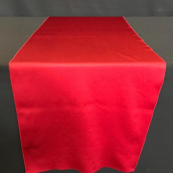 "Table Runner - Satin - Red - 19"" x 106"""