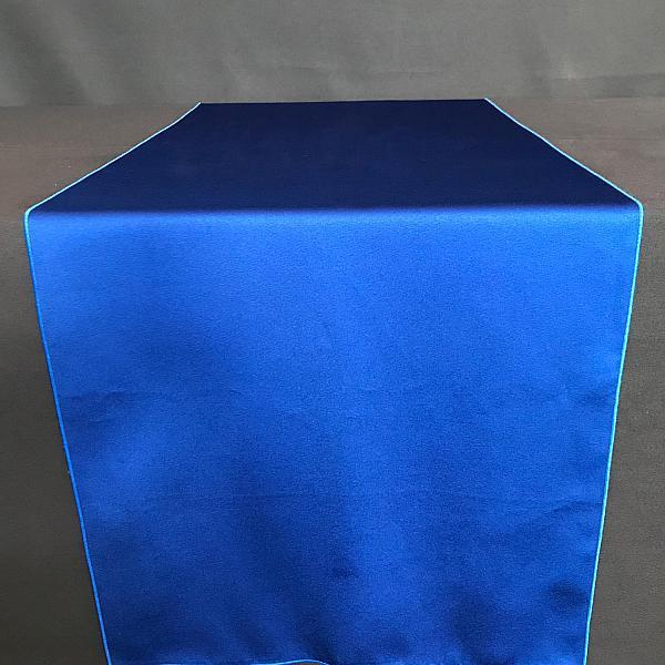 "Table Runner - Satin - Royal Blue - 19"" x 106"""