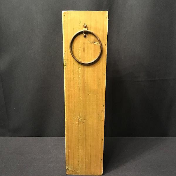 "Wood Vase - Square - 4"" x 18"""