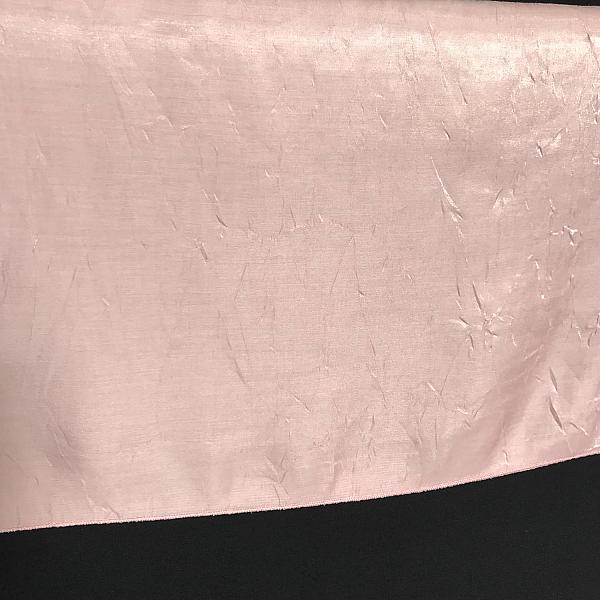 "Table Overlay - Crushed Silk - Pink 72"" x 72"""