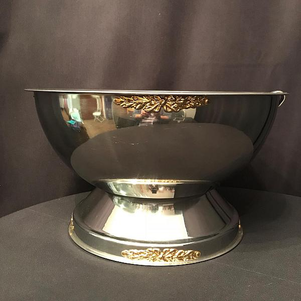 Punch Bowl - Silver - 40 Cup