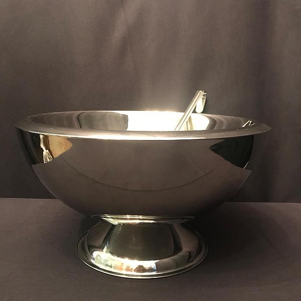 Punch Bowl - Silver - 35 Cup