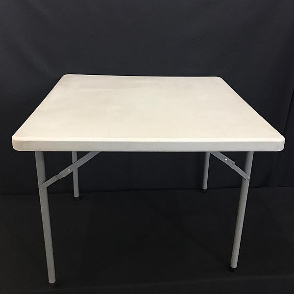 """Square Table, 36"""" - Resin - 30"""" Height"""