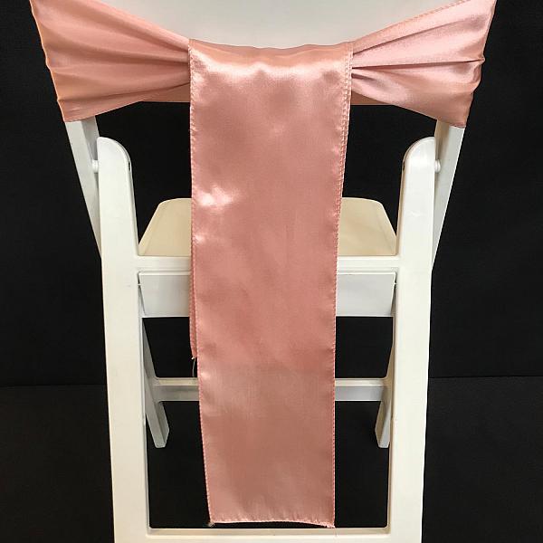 Chair Tie - Satin - Blush