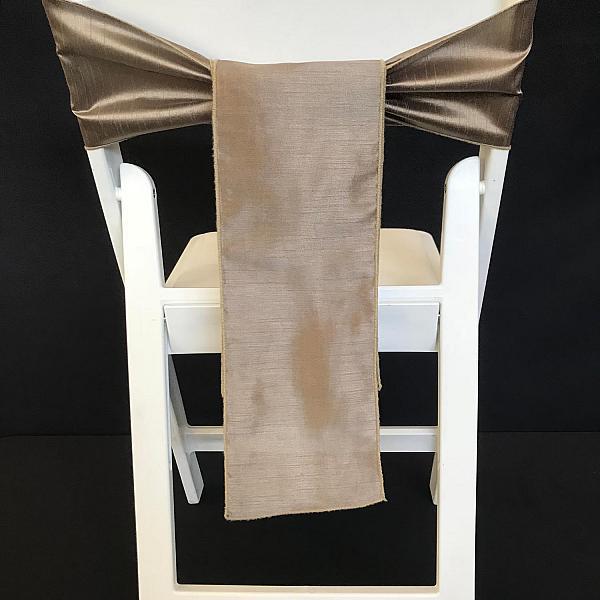 Chair Tie - Raw Silk - Ironwood