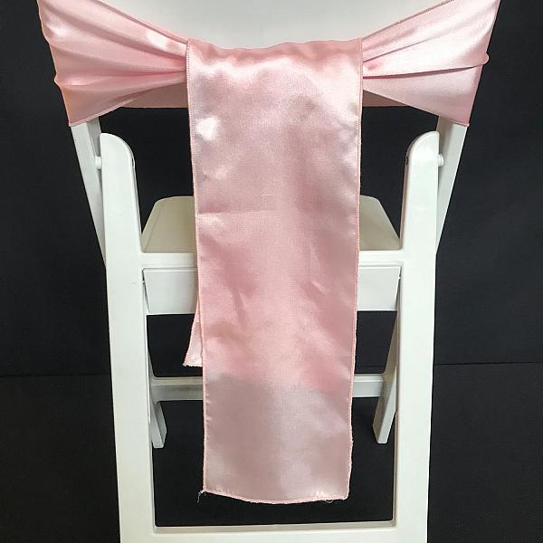 Chair Tie - Silk - Light Pink