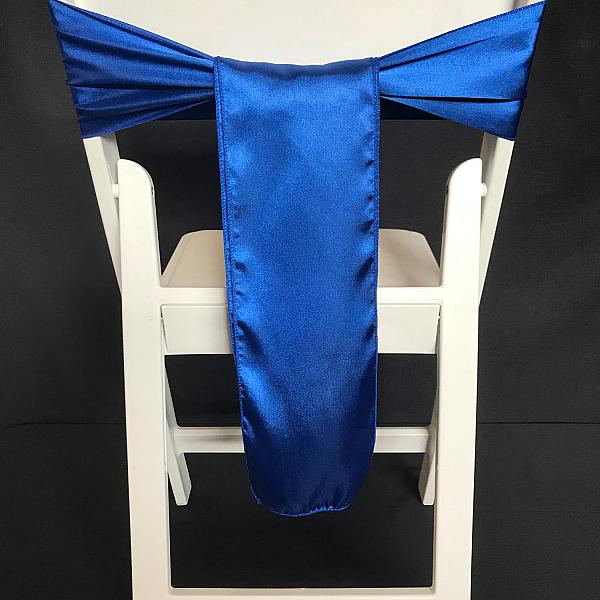 Chair Tie - Silk - Royal Blue