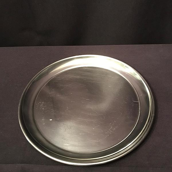 Tray - Round - Stainless - 12""