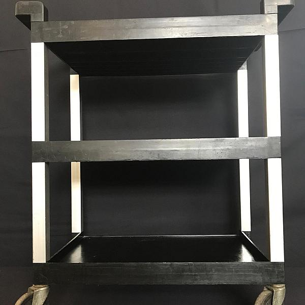 3 Level Rolling Service Trolley