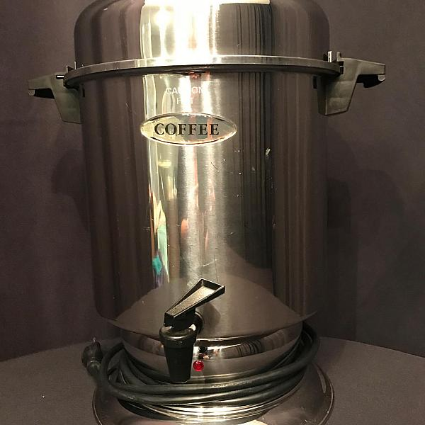 Coffee Urn - Silver - 36 Cup