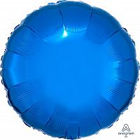 "Mylar 18"" - Blue Round"