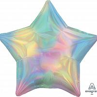 "Mylar 18"" - Iridescent Rainbow Star"