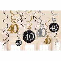 Sparkling Celebration - Swirly Decoration - 40