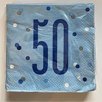 Glitz Blue & Silver - 50