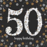 Sparkling Celebration - 50 Napkins